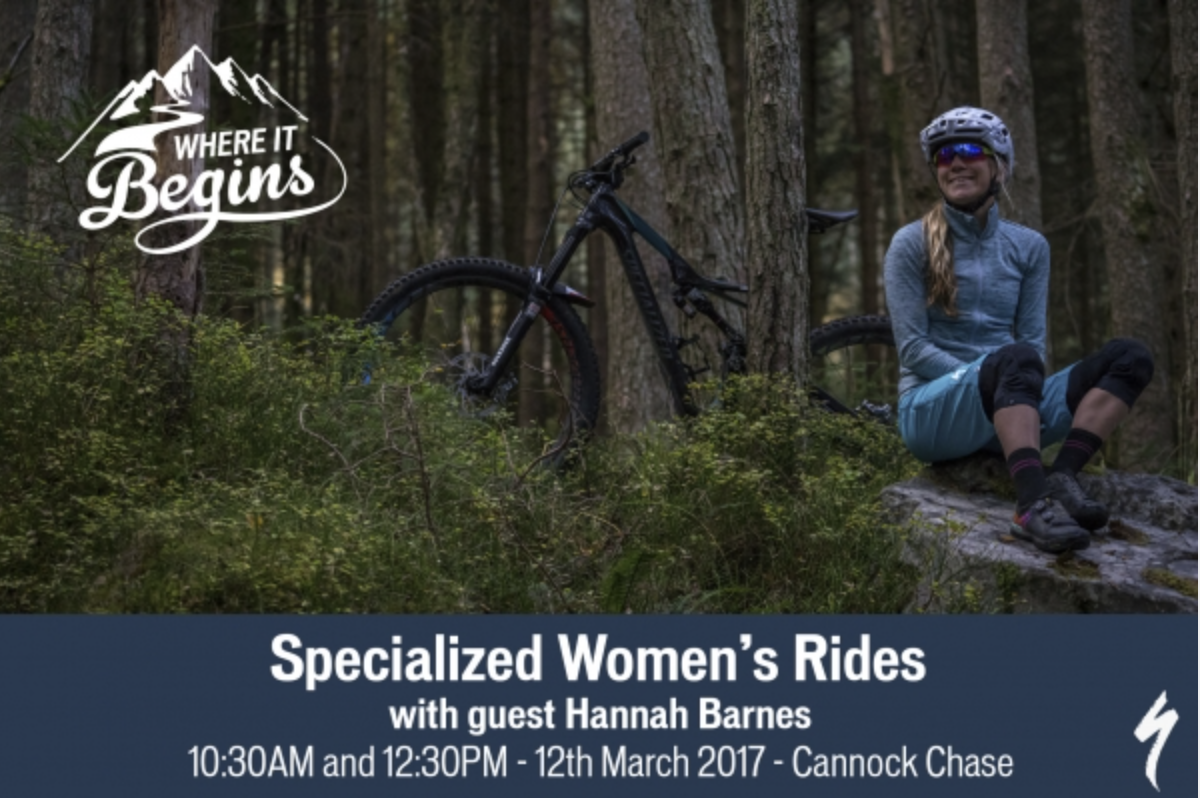 Womens rides with Hannah Barnes