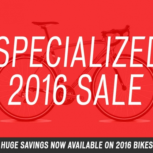 Specialized 2016 Bike Sale at Nottingham