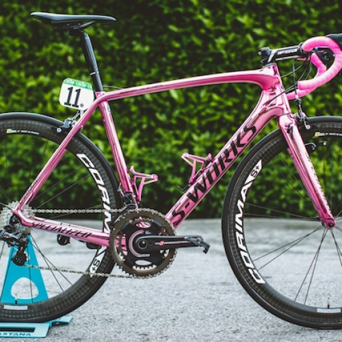 The Specialized Bike That Won Giro D'Italia