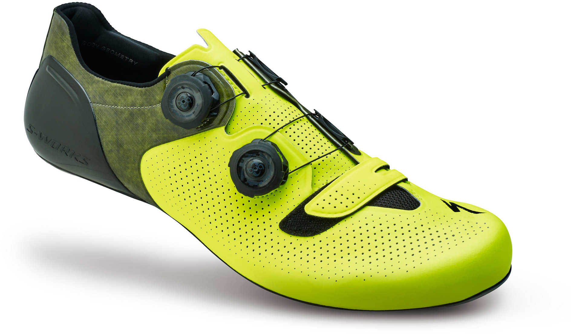 S Works  Road Shoes Neon Yellow