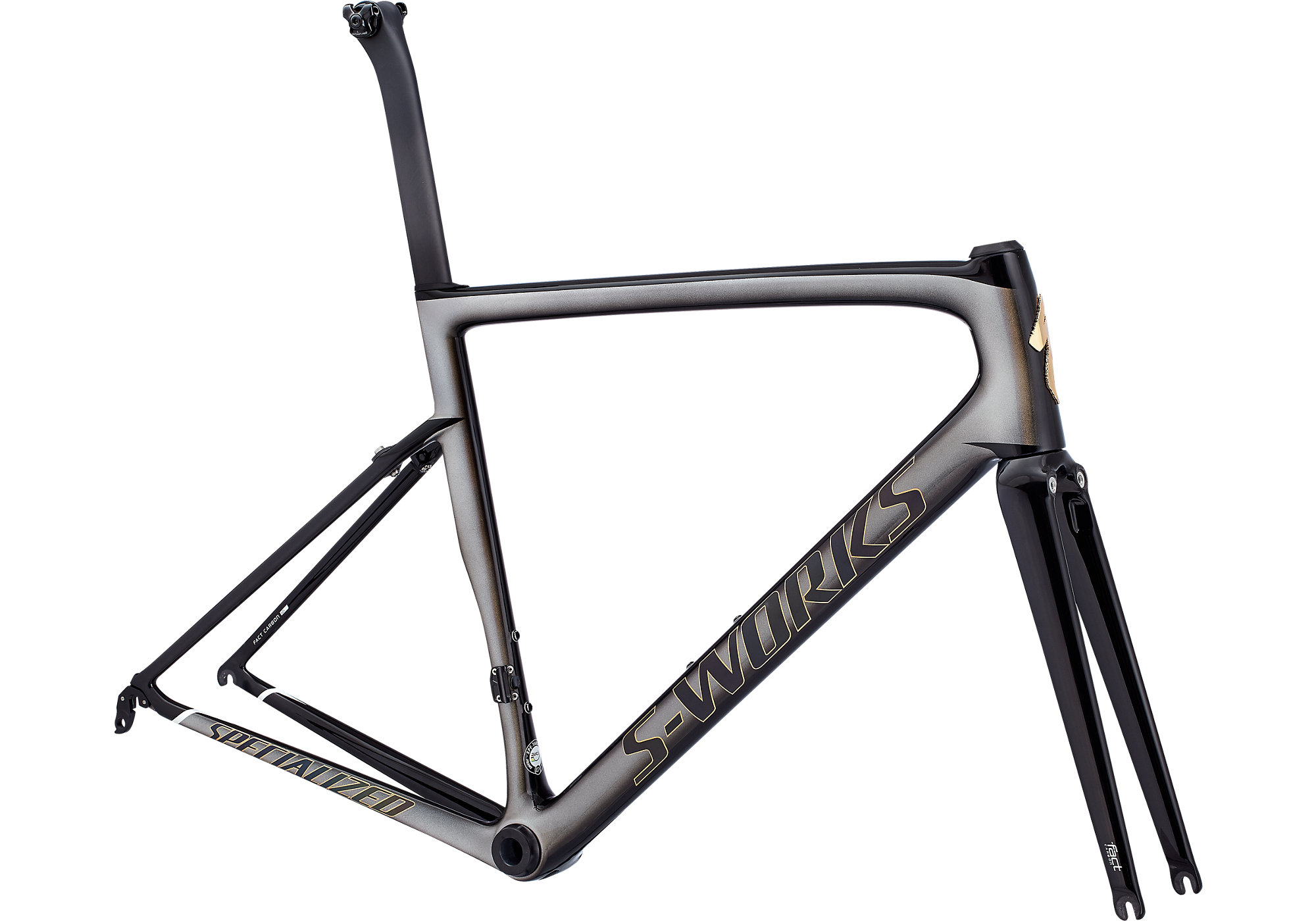 2018 Specialized Men\'s S-Works Tarmac Sagan Superstar Frameset ...