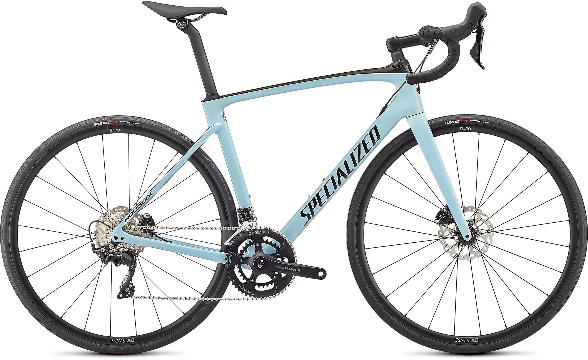 Gloss Ice Blue/Carbon/Tarmac Black