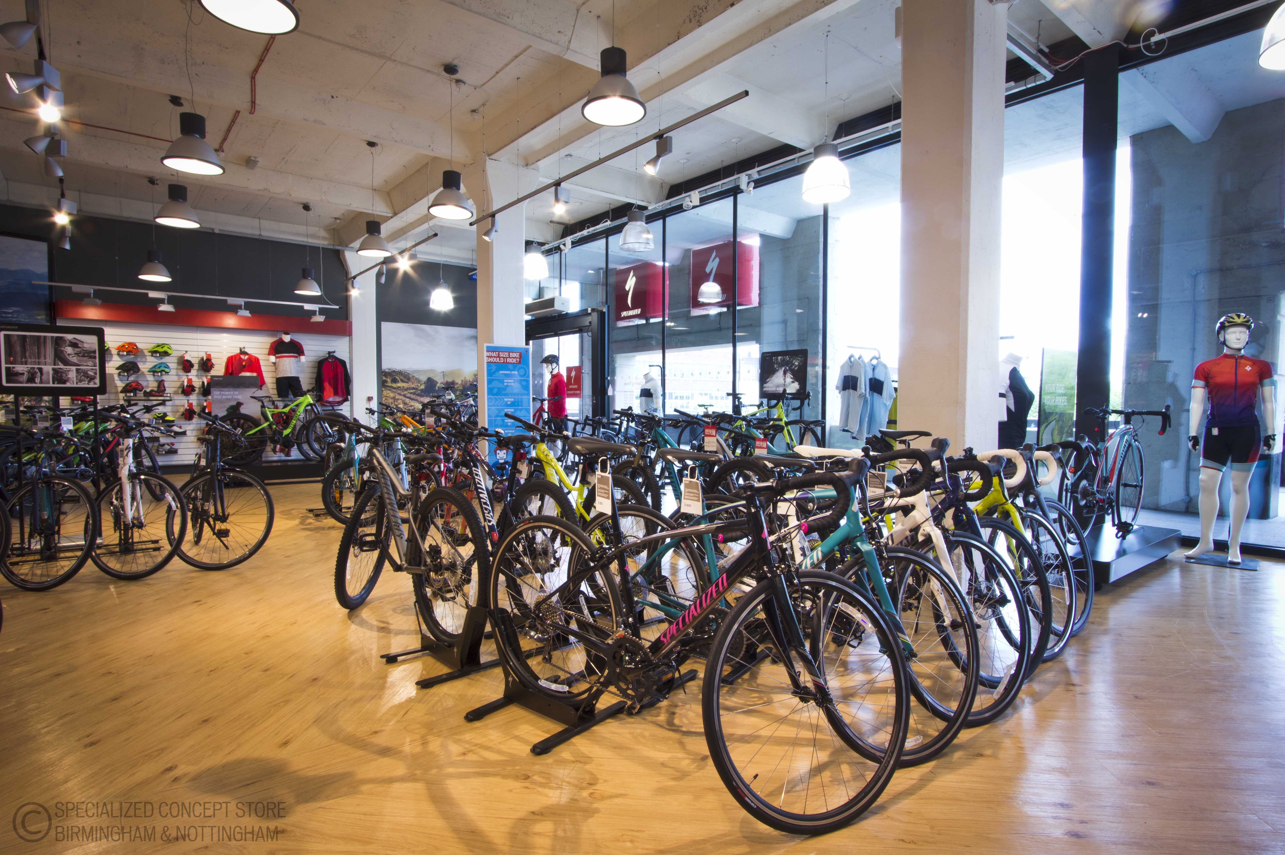 f4d7dd0690a Birmingham Specialized Concept Store - Bike Shop in Birmingham